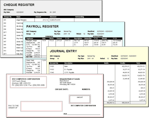 Payroll reports in eNETEmployer